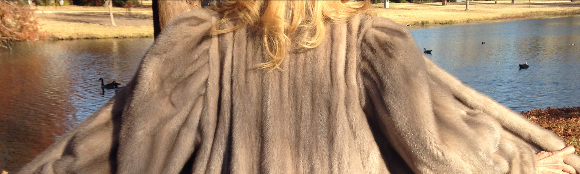 Sapphire-Colored Coat
